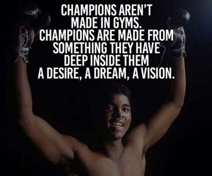 How to be a champion quotes