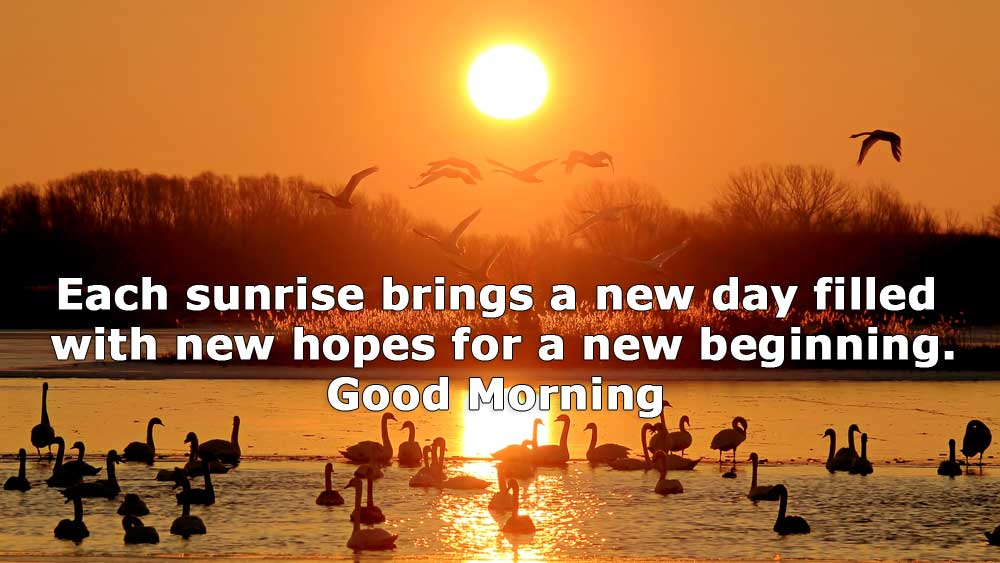 Inspirational good morning status