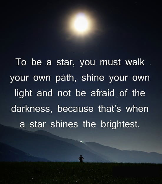 Inspirational quotes about growth how to be a star in your life and career