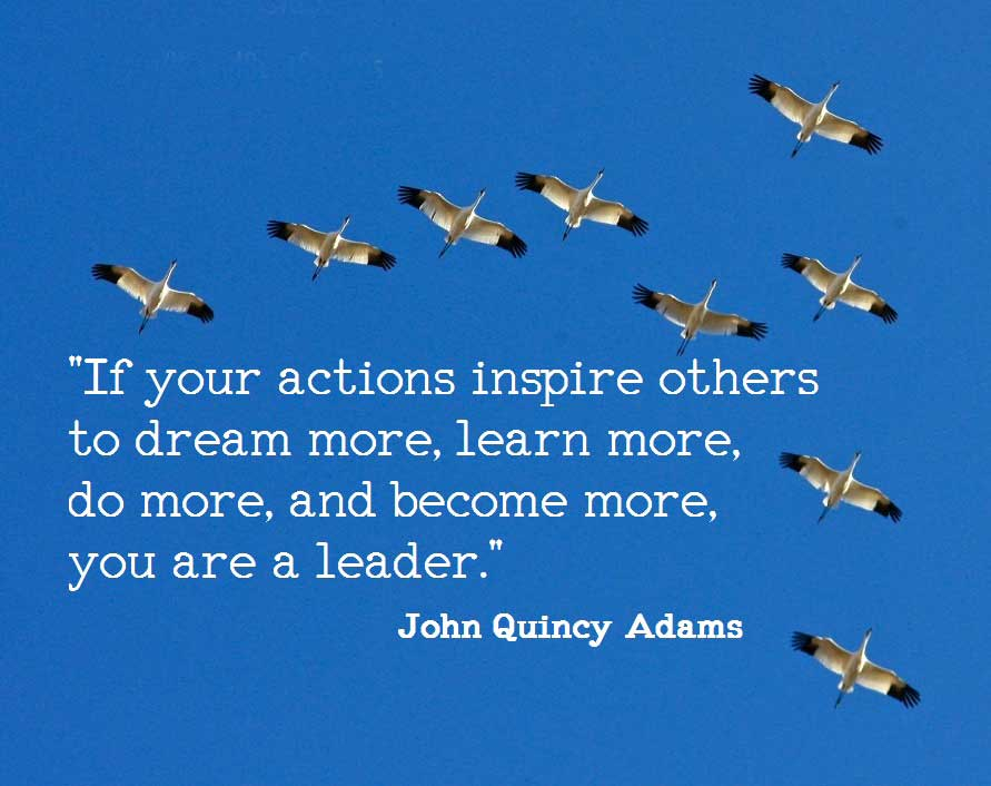 Leadership quotes by john quincy adams