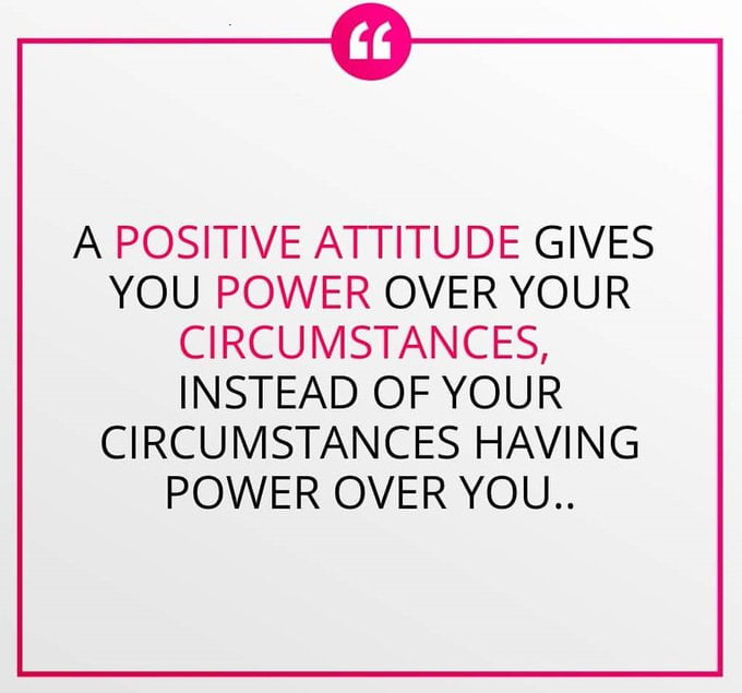 Positive attitude quotes for work