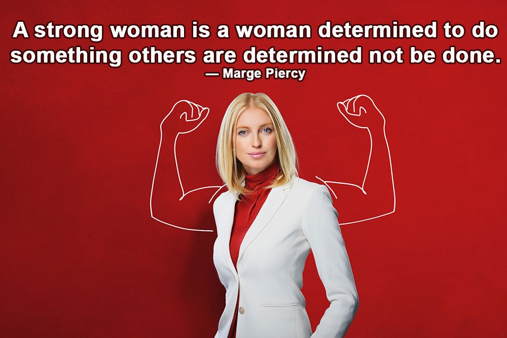 Strong women quotes for whatsapp