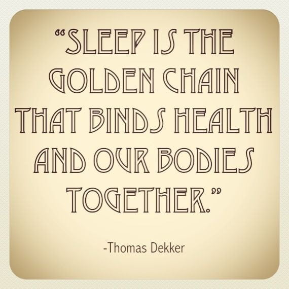 Sleep plays a vital role in good health