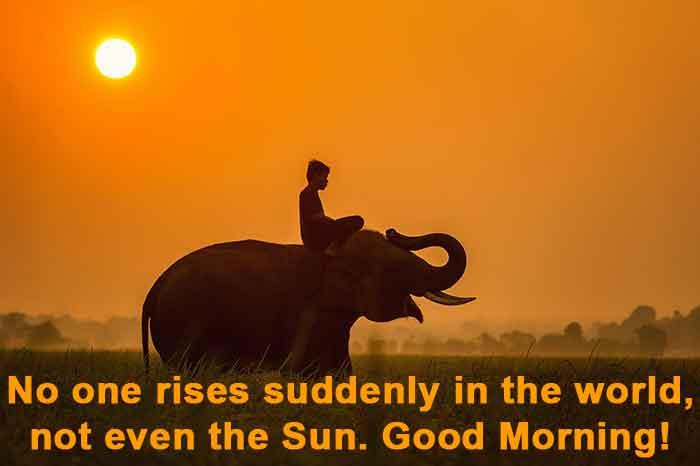 Sunrise positive quotes