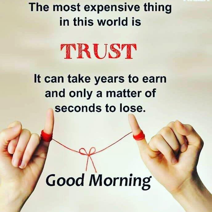 Wisdom word about trust